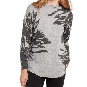 Nic+Zoe | Gray Lenox Sweater NWT | Large